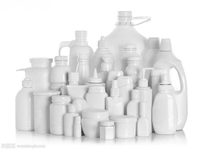 Plastpudelite märgistamise masin keemiatoodetele, PLC ja puuteekraani juhtimissüsteem