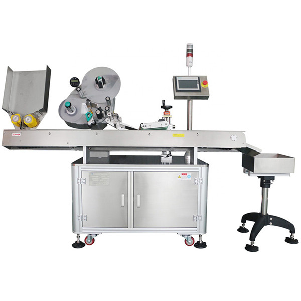60-500 tk Min Economy automaatne farmaatsiapudeli viaali märgistamise masin