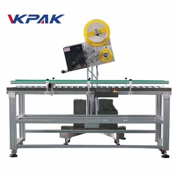 Automaatse ümbriku tööstuslike etikettide aplikaator väikesemahulise tootmise paberikarbi jaoks