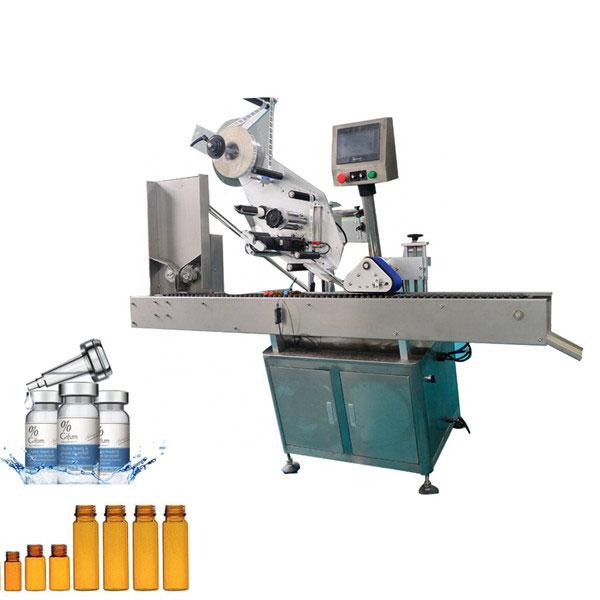 Automaatne närimiskummi viaali sildistamise masin 10 ml väikese ümmarguse pudeli jaoks