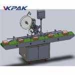 Automaatse söötmise ülemise sildistamise masina kleebis / isekleepuva sildi tüüp