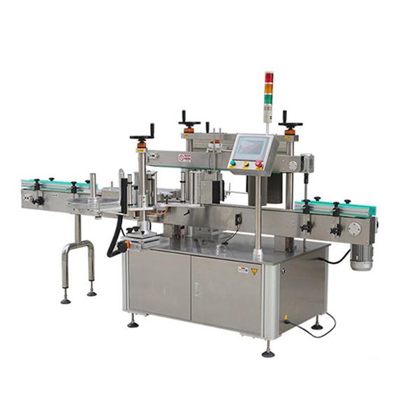 Automaatne ümmarguse pudeli kleebise sildistamise masin kuupäevaprinteriga