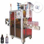 Pudeliga jookide kokkutõmbumise varrukasiltide masin, kokkutõmbumisvastaste varrukatega aplikaator