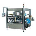 CE täisautomaatne pudeli tiibadega pöördkleebise sildistamise masin