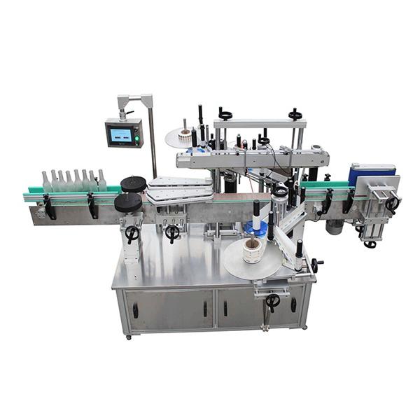 Kosmeetiline nelinurkse pudeli sildistamise masin