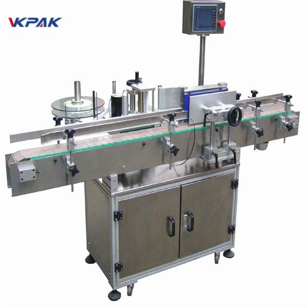 Kohandatud õllepudeli kleebise sildistamise masin 220V 20 - 200 tk minutis