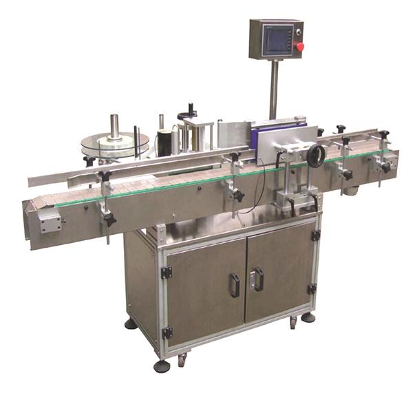 Paindlik kõneldud automaatne kleebiste sildistamise masin kahepoolsete paberkottidega