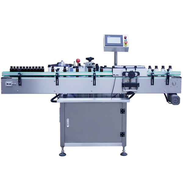 Klaaspudeli isekleepuva kleebise sildistamise masin, klaaspurgi sildistamise masin