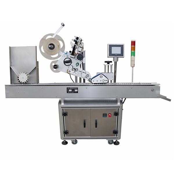 Farmaatsiatööstuse ülitäpne viaali kleebiste sildistamise masin