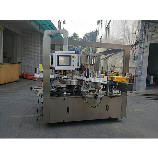 Kiire pöörleva kleebise märgistamise masin koos täitmismasina valikuvööga