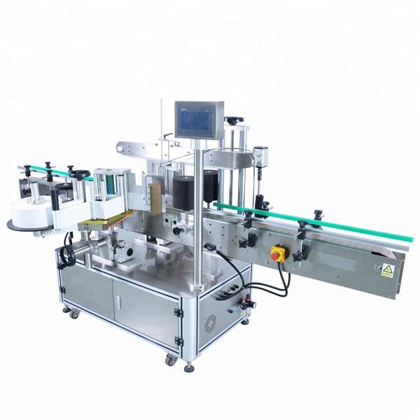 Suure kiirusega ümmarguse pudeli kleebise märgistamise masin ebakorrapäraste mahutite jaoks