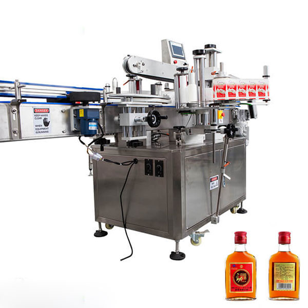 Tasside ja ümmarguste pudelite märgistamismasin täisautomaatne pulk