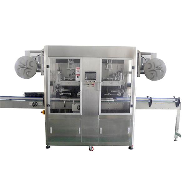 PET-pudeli roostevabast terasest kokkutõmbumisvarraste sildistamise masin mitmesuguste pudelite jaoks CE