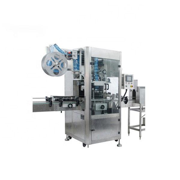 PVC kahanevate varrukatega aplikaatori masin on täiesti automaatne kokkutõmbumissiltide masin