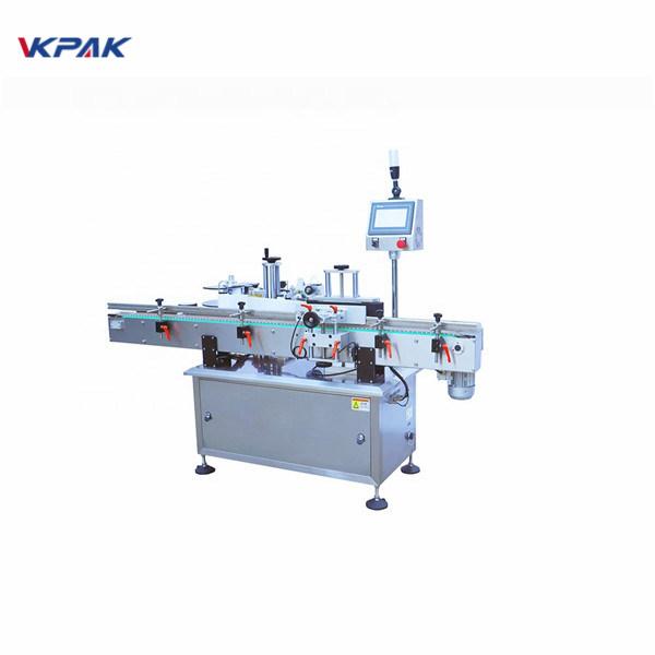 Pakend ümmarguse pudeli sildistamise masina tehase hind