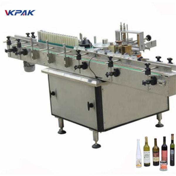 Erinevate pudelite automaatne kleepimis- ja külmliimiga siltide aplikaator