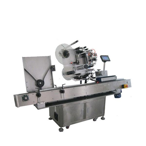 Farmaatsiatööstuse viaali kleebiste sildistamise masin