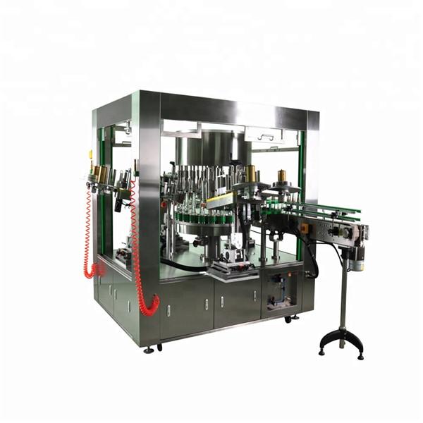 Ümmargune pudeli pöörlemissilt koos pöörlemisnõu sildistamise masinasüsteemiga