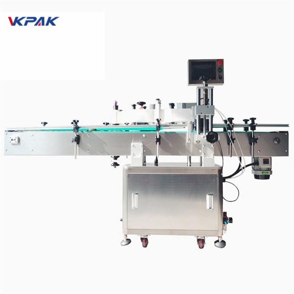 Imporditud suure täpsusega maagilise silmaga ümmargune pudelikleebise sildistamise masin