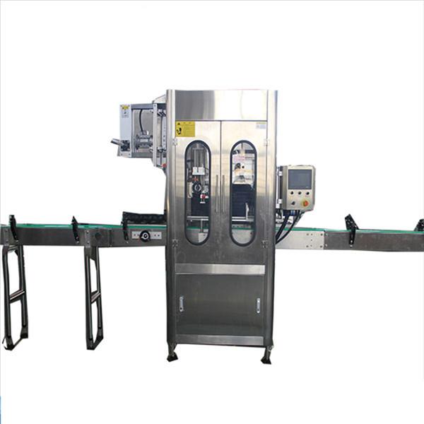 Väikese mahutavusega kahanevate varrukatega siltide aplikaator ümmargune pudeli kokkutõmbumise märgistamise masin