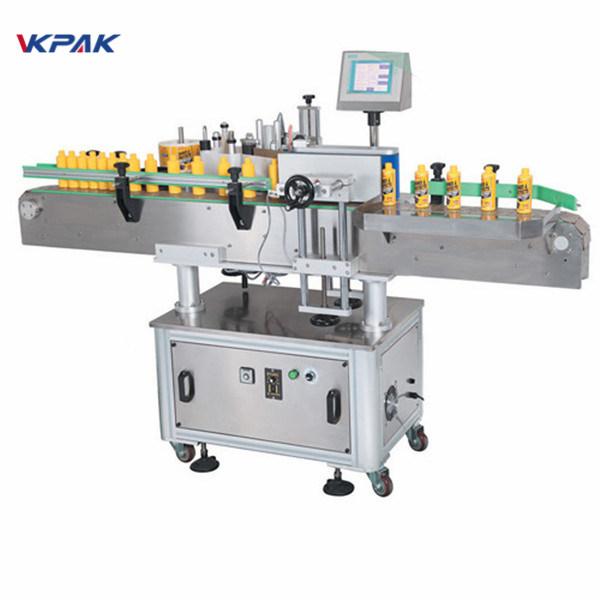 Veini ümmargune pudelikleebise sildistamine masin käsitööõlle, destilleeritud kangete alkohoolsete jookide jaoks