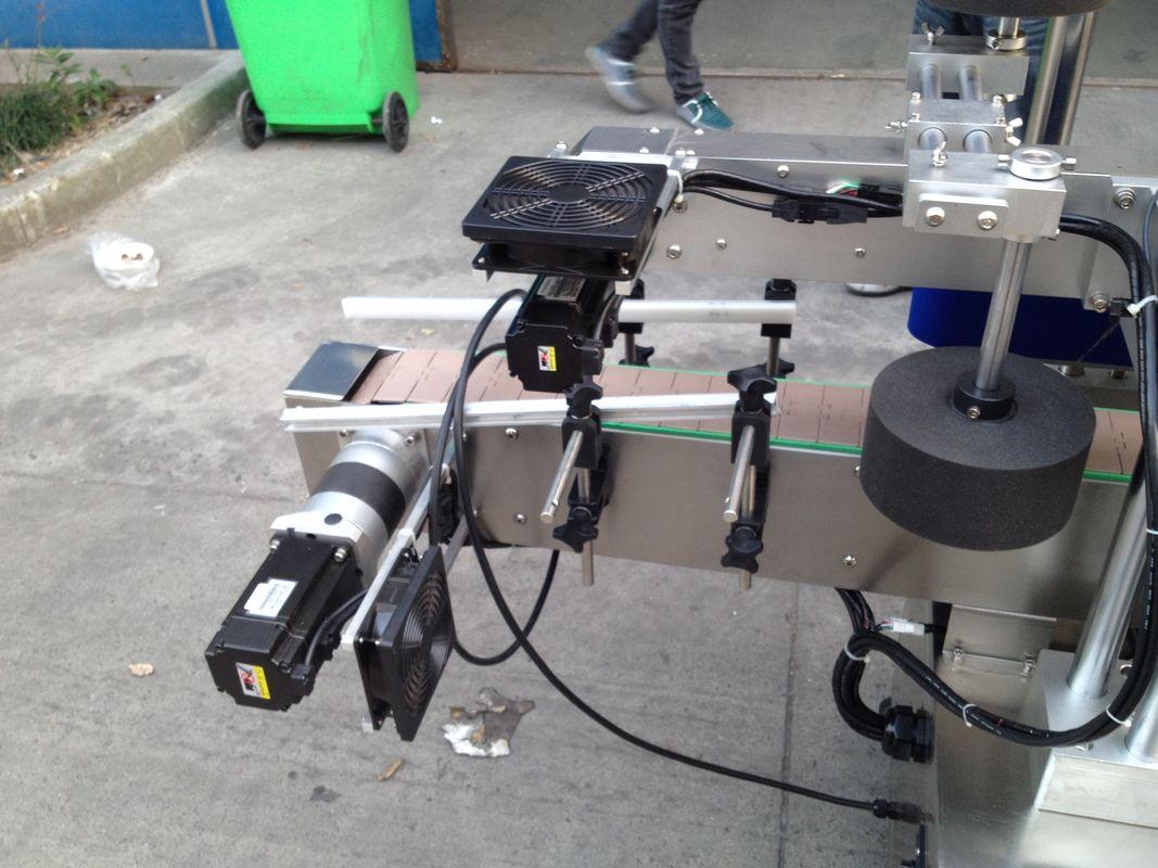 Külma / niiske sulatatud liimiga siltide aplikaator masin ümmarguse pudeli jaoks