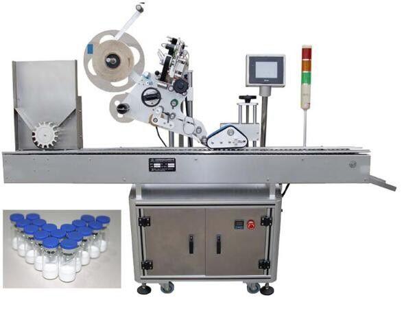 10ml farmaatsiatoodete väikese pudeli märgistamise masin