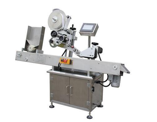 Horisontaalse pastapliiatsi viaali kleebise sildistamise masin