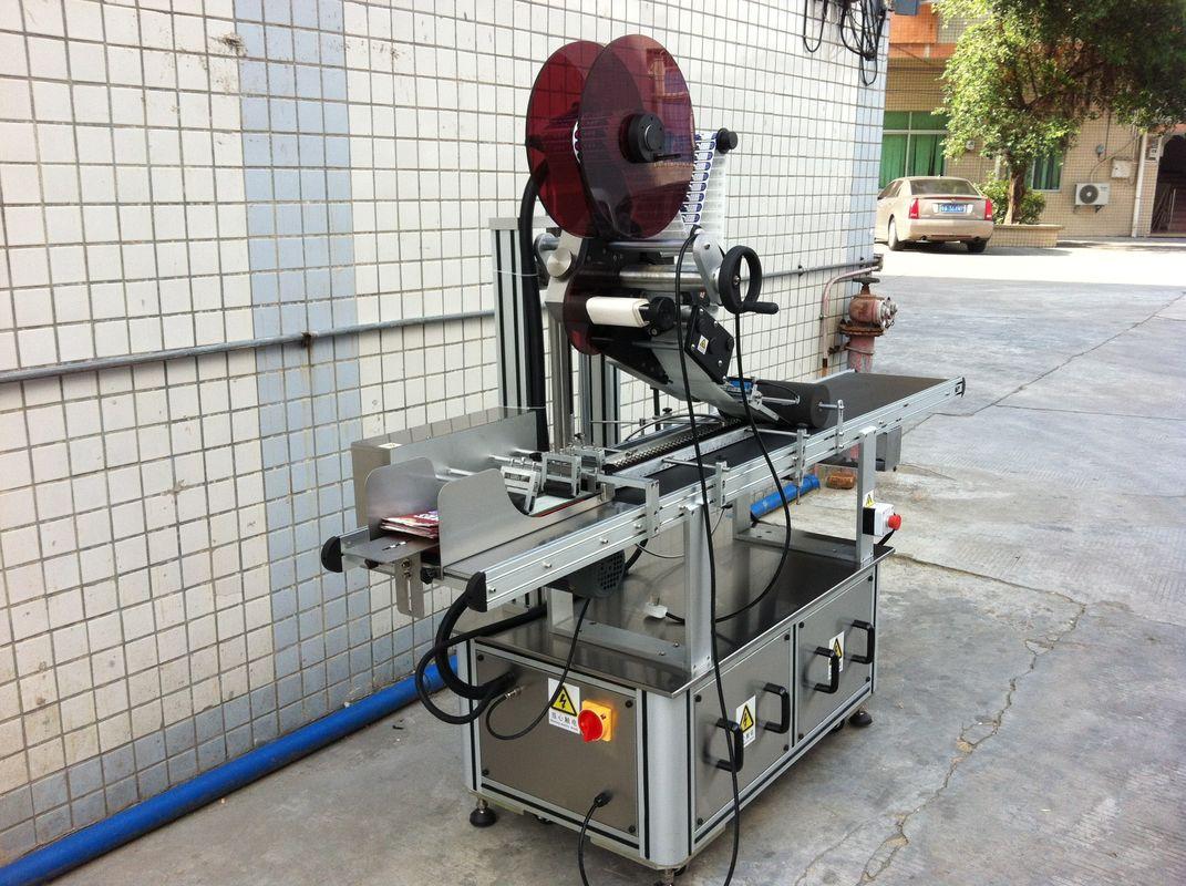 Elektriajamiga ülemise sildistamise masin, isekleepuva kleebise sildistamise masin