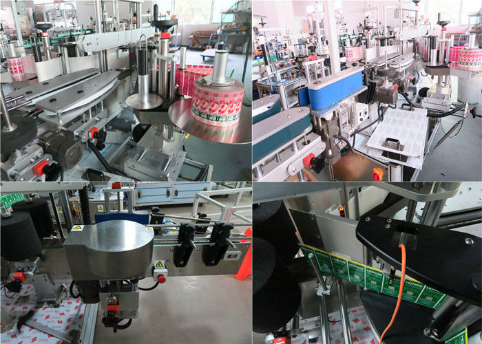 Igapäevaste pudelite eesmine ja tagumine sildimisseade, purgisiltide masin
