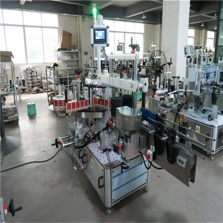 Lameda pudeli kiire märgistamise masin, kahepoolne kosmeetika / jookide jaoks