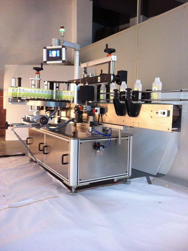Joogid pudelipildi sildistamise masina kahepoolse kleebise sildistaja