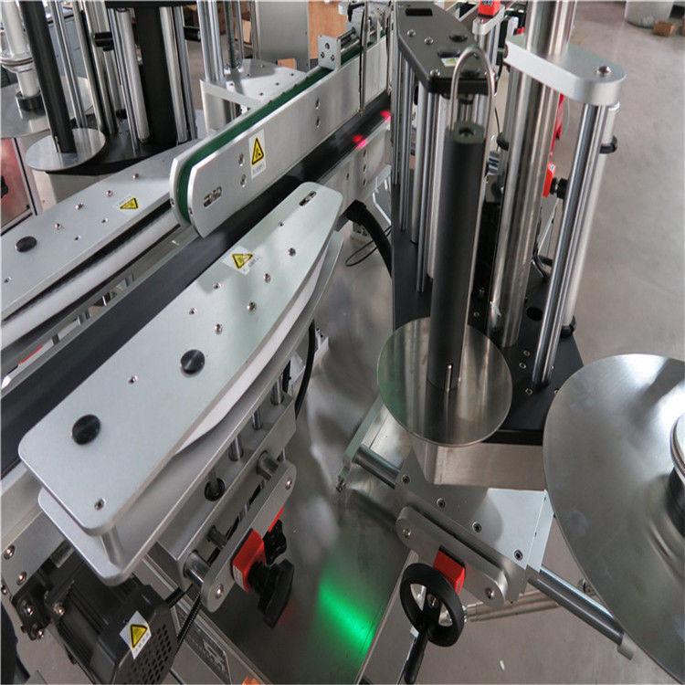 CE automaatne kleebiste sildistamise masin, eesmise ja tagumise pudeli sildistaja