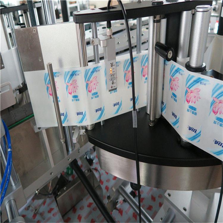 Automaatne ühe- või kahepoolse kuusnurga ümmarguse pudeli kleebise sildistamise masin