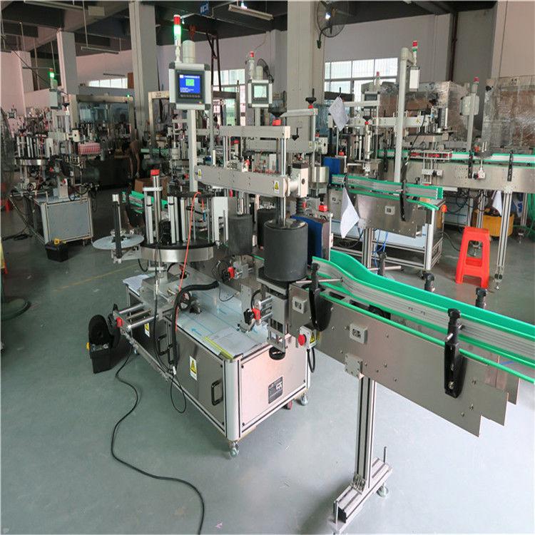 Ümmargune lemmiklooma pudeli sildistamise masin, automaatne etikettide paigaldamise masin