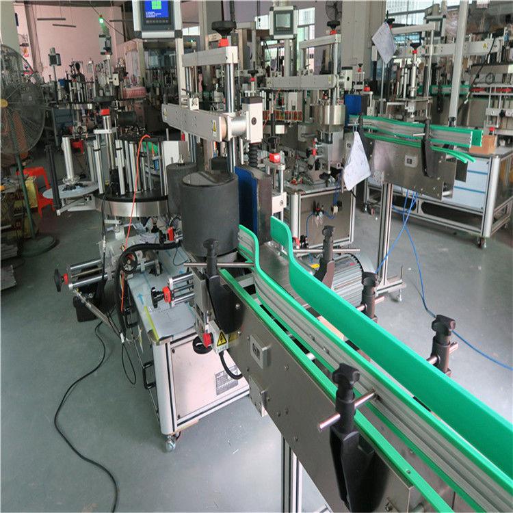 Kahepoolne isekleepuva kleebise pudeli sildistamise masin 190mm kõrgus max