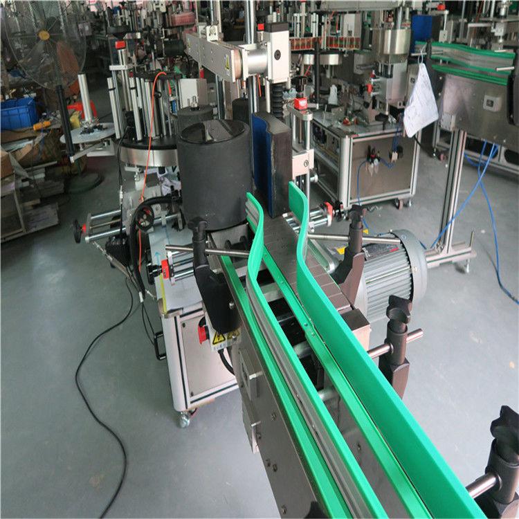 Kaks automaatset kleebiste sildistamise masinat kahepoolne sildija 6000-8000 B / H