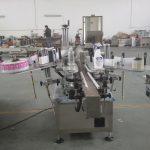 Plastist ja klaaspudelitest automaatne kahepoolse kleebise sildistamise masin