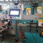 Automaatne ümmarguse pudeli kahepoolse kleebise märgistamise masin õllepudeli jaoks