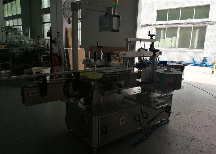 Kahepoolne ümmargune / ruudukujuline / lame plastpudelite märgistamise masin