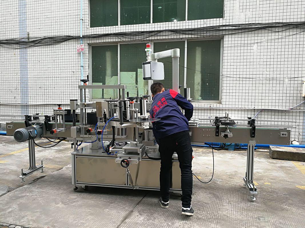Täisautomaatne veepudeli märgistamise masin klaasi / PET-pudeli jaoks