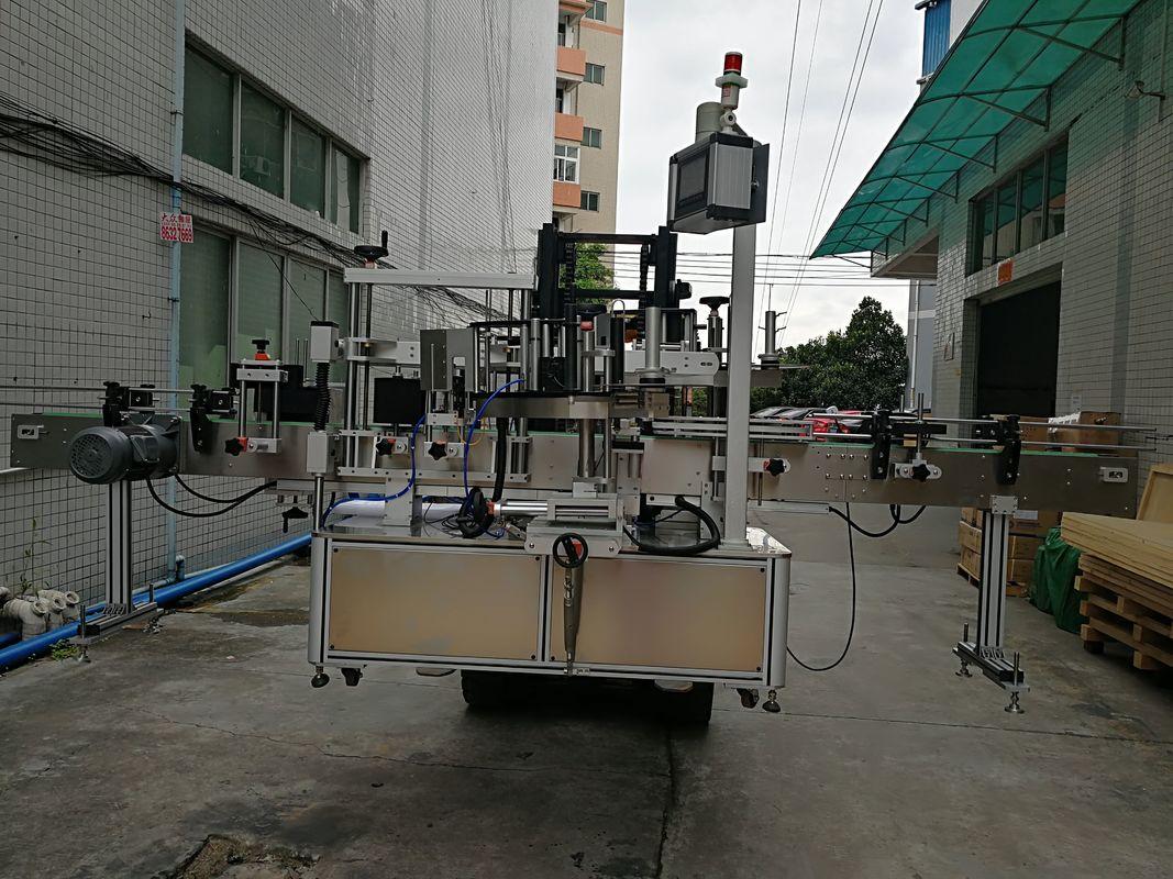 Automaatne kahepoolse kleebise sildistamise masina etikett plastikpurgile