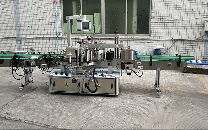 Servomootoriga kahepoolne automaatne kleebiste sildistamise masin