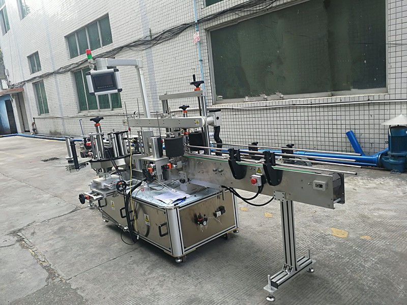 Isekleepuv kleebis kahepoolne pudeli sildistamise masin täisautomaatne
