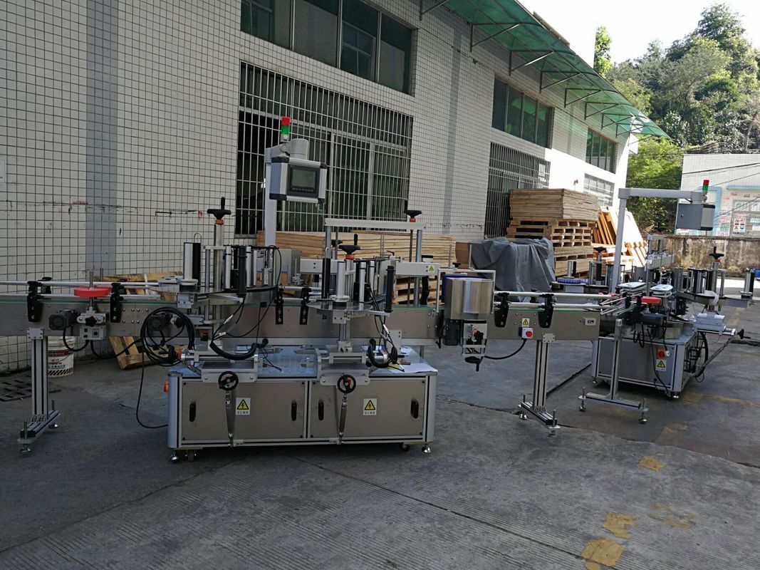 Lameda / ruudukujulise pudeli kleebise märgistamise masin täisautomaatne 5000-8000B / H võimsus